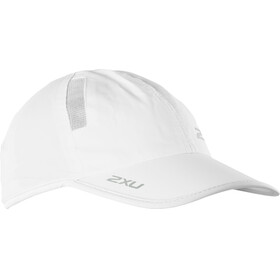 """2XU Run Cap White/White"""